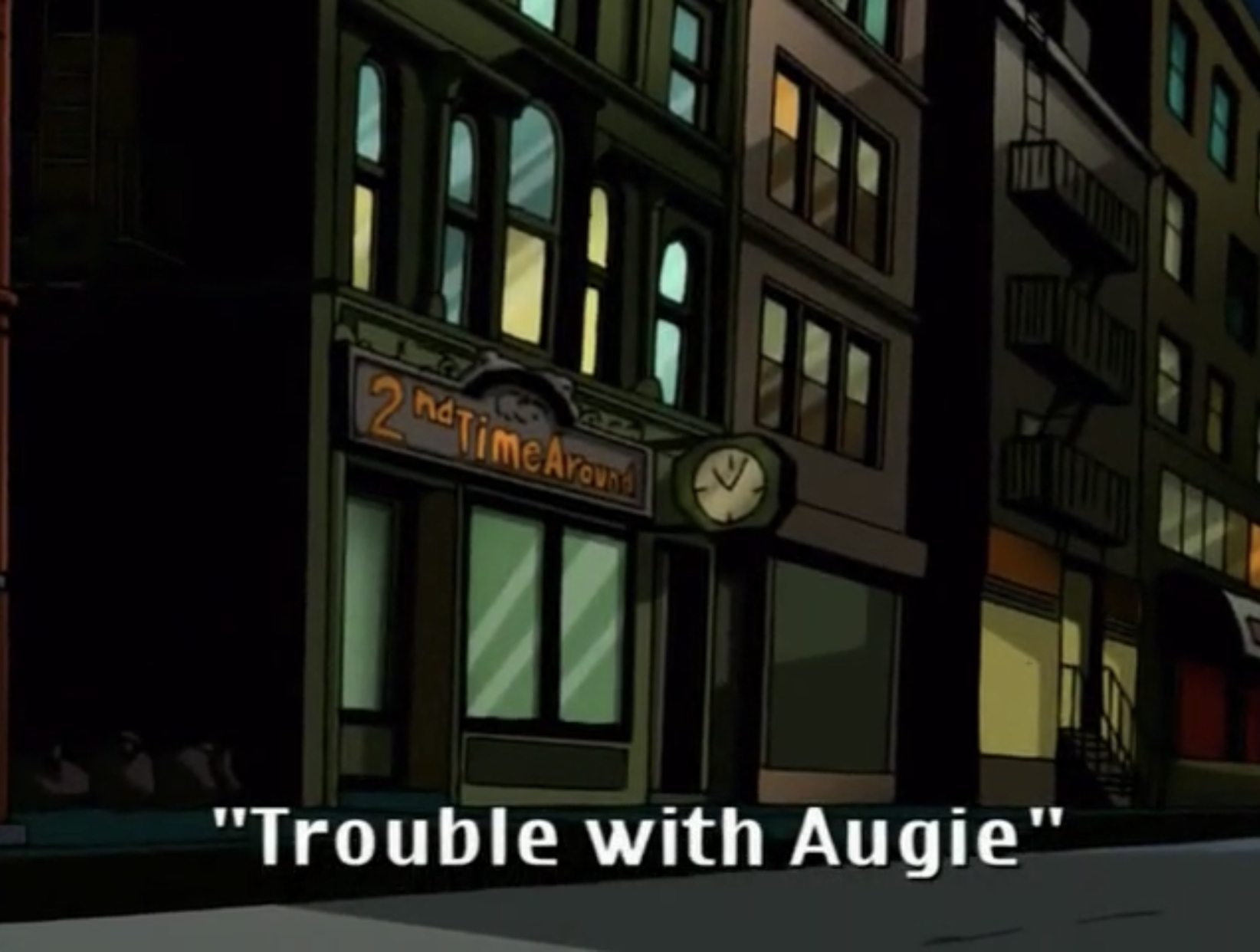 Trouble with Augie