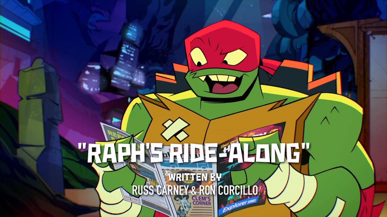 Raph's Ride-Along