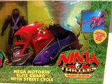 Mega Motorin' Elite Guard with Street Cycle (1997 toy)