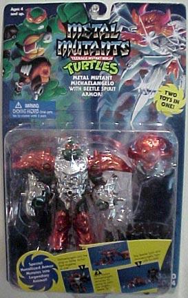 Metal Mutant Michaelangelo (1995 action figure)