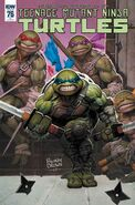 TMNT -76 Retailer Incentive Cover by Ryan Brown
