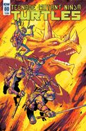 TMNT -80 Regular Cover by Damian Couceiro