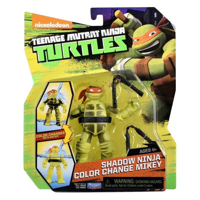 Shadow Ninja Color Change Mikey (2016 action figure)