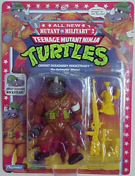 Dimwit Doughboy Rocksteady (1992 action figure)
