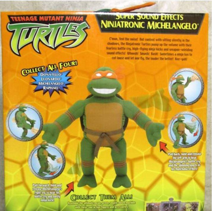 Ninjatronic Michelangelo (2004 action figure)