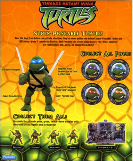 Super-Poseable Leonardo (2003 action figure)