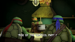 Rise of the Turtles, Part 1 title.png