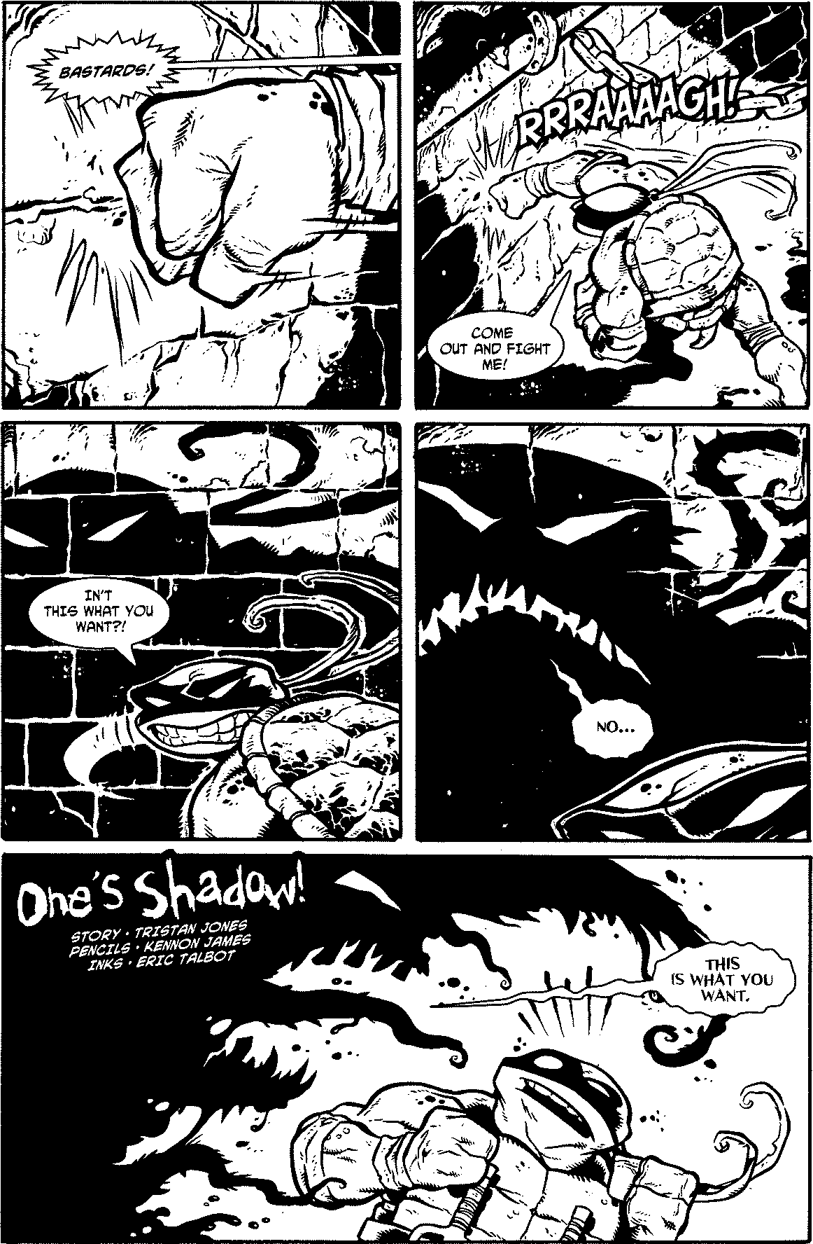 One's Shadow!