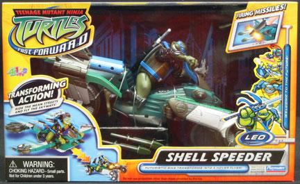 Shell Speeder Leo (2006 toy)
