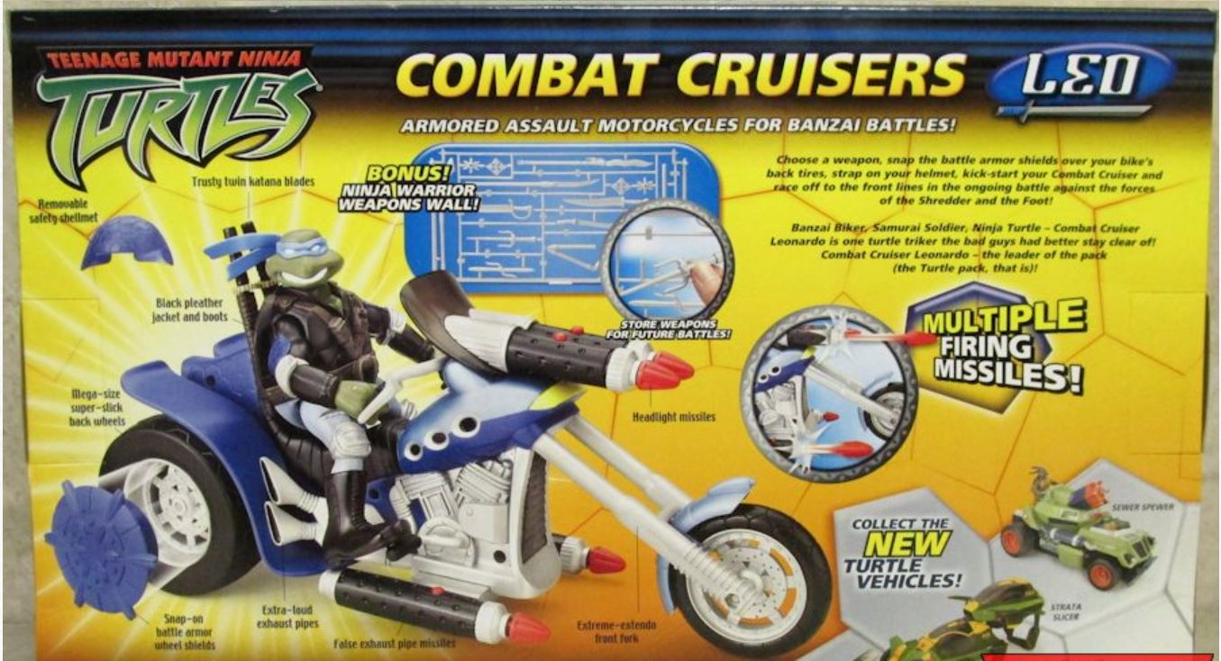 Combat Cruisers Leo (2005 action figure)