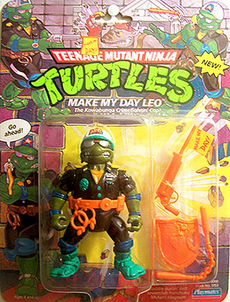 Make My Day Leo (1991 action figure)