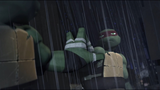 Raph kraang touches reflection