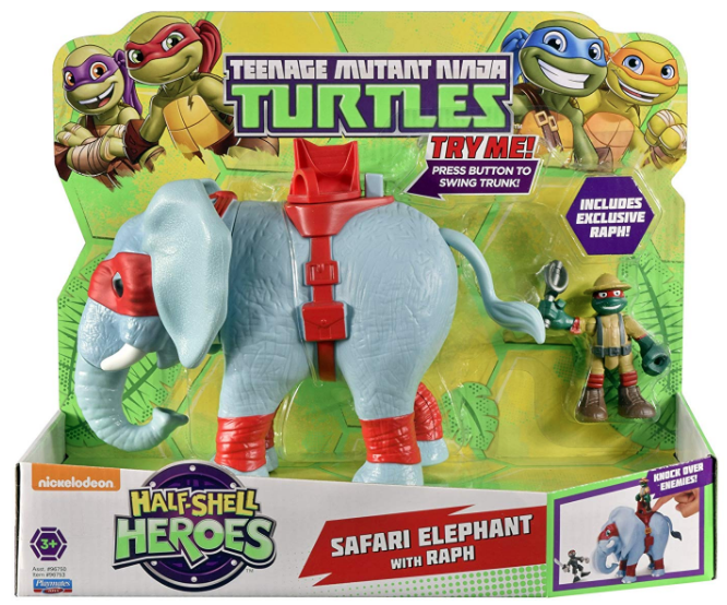 Half-Shell Heroes Safari Elephant with Raph (2016 action figure)