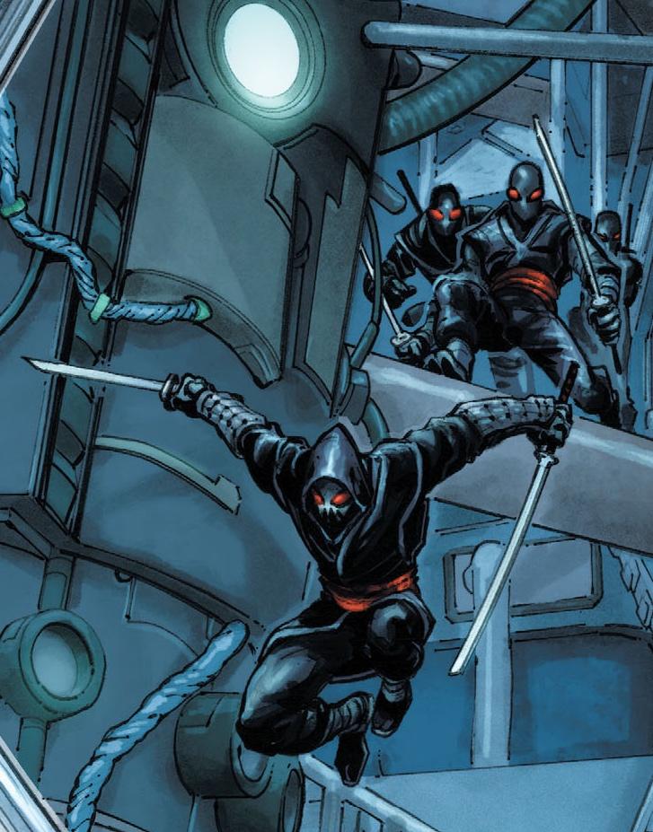 Foot Clan (Batman/TMNT)