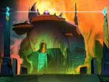 Baron Draxum's laboratory