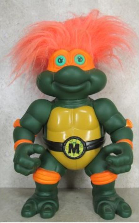 Giant Turtle Troll Mike (1993 action figure)