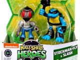 Half-Shell Heroes Stockman-Fly and Slash (2015 action figures)