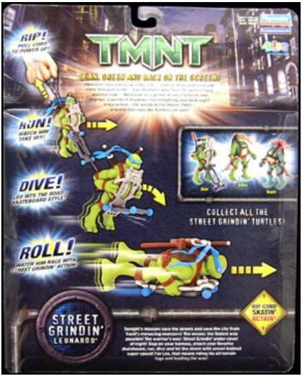 Street Grindin' Leonardo (2007 action figure)