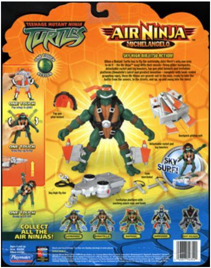 Air Ninja Michelangelo (2004 action figure)