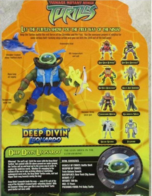 Deep Divin' Leonardo (2004 action figure)