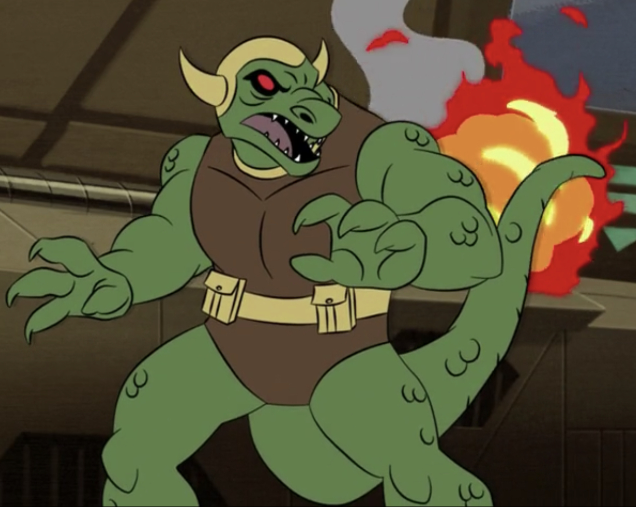 Captain Reptile