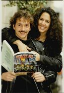 Kevin Eastman and April Fisher