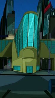 TCRI building ext