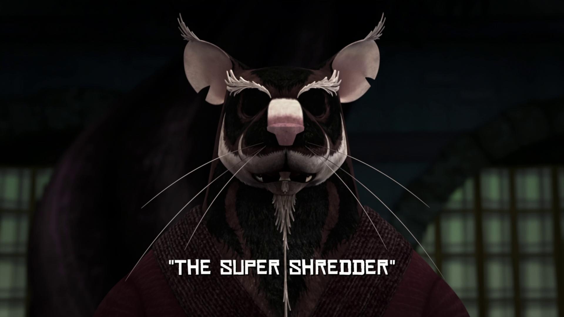 The Super Shredder