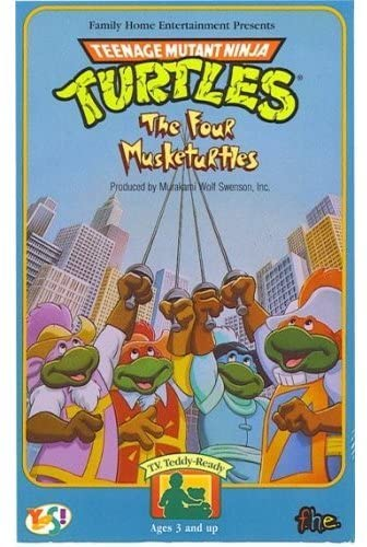 The Four Musketurtles