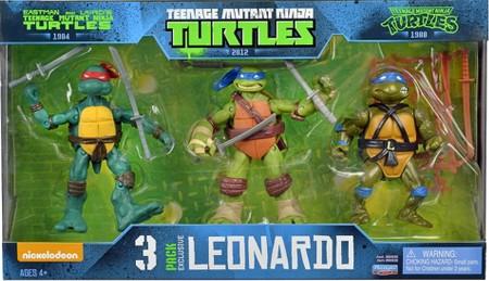 3 Pack Exclusive Leonardo (2014 action figure set)