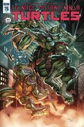 TMNT -76 Excelsior Collectibles Retailer Exclusive Cover by Alex Kotkin