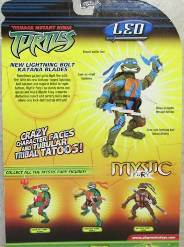 Mystic Fury Leo (2005 action figure)