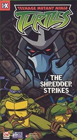 The Shredder Strikes (home media release)