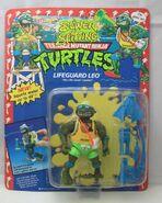 Lifeguard leo figure , sewer spitting series 1992