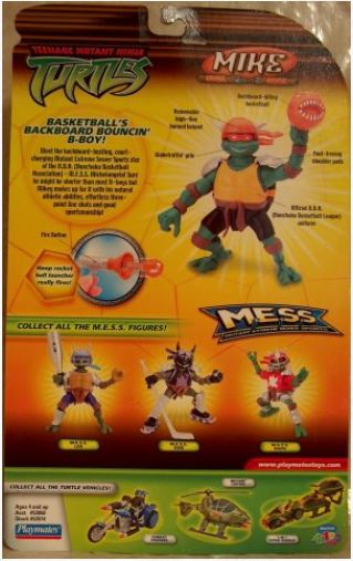 M.E.S.S. Mike (2005 action figure)