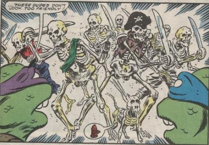 Skeleton Pirate (Archie)