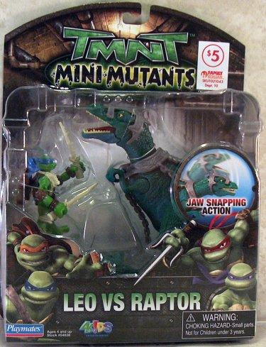 Leo vs. Raptor (2009 action figure)