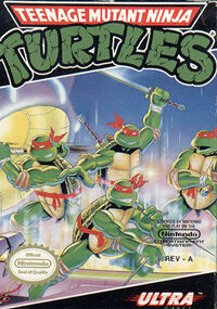Box art of Teenage Mutant Ninja Turtles