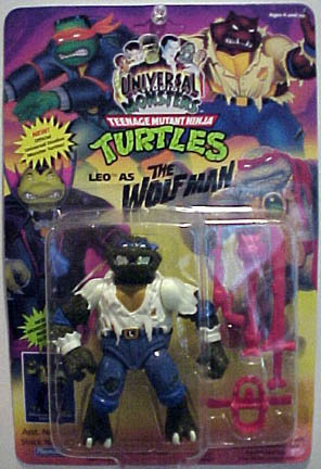 Leo as the Wolfman (1993 action figure)