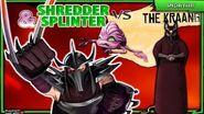 Shredder and Splinter vs Kraang