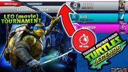 Leonardo Tournament FAST UP RANK Teenage Mutant Ninja Turtles Legends ( TMNTLegends)