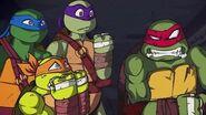 ALL Cutscenes animation - Teenage Mutant Ninja Turtles Legends