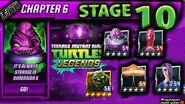 Chapter 6 STAGE 10 Walkthrough Teenage Mutant Ninja Turtles Legends ( TMNTLegends)