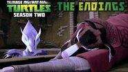 TMNT 2012 Season 2 The Ending of Episodes
