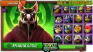 Splinter VS ALL Ninja Turtles (LARP, Movie, Vision, Classic) and Metalhead