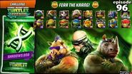 ALL NINJA TURTLES Fear the Krang! Teenage Mutant Ninja Turtles Legends (TMNT Legends) gameplay 2016