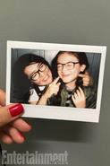 Jenny Han and Anna Cathcart