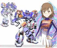 "Misaka Mikoto & Raiden ""Judge Igniters"" (Virtual-On game)"