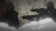 Armed men from BLOCK