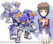 Uiharu Kazari & Grys-Vok (Virtual-On game)